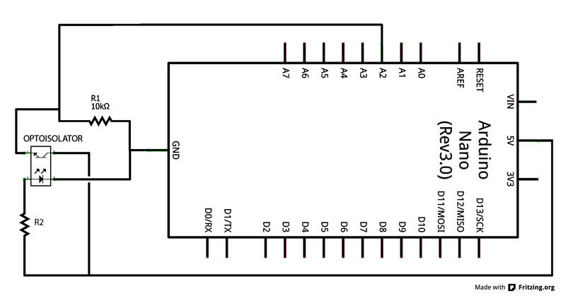 Photoisolator Schematic