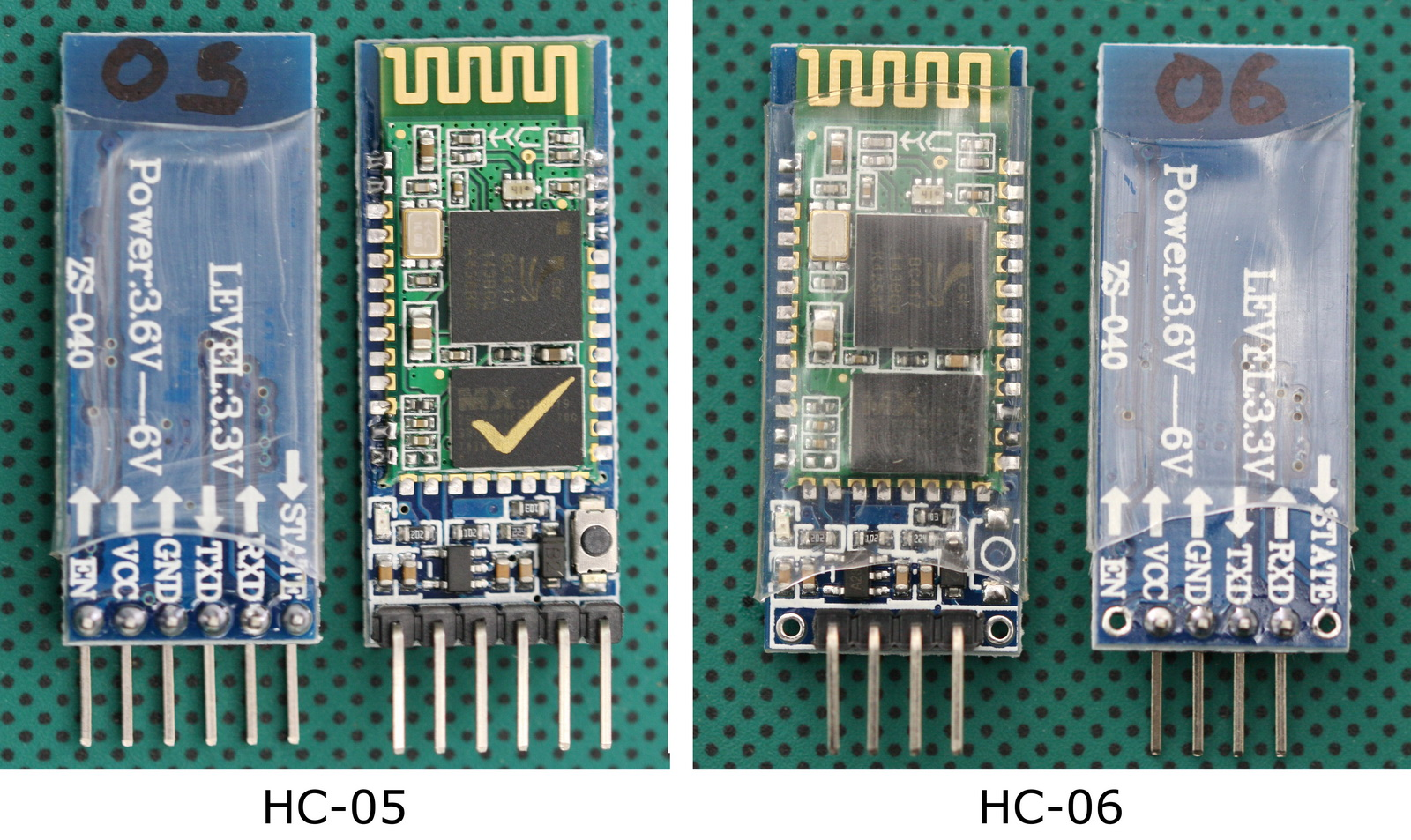 Bluetooth Modules Martyn Currey In Pdf And Eagle Formats The Schematic As Well Arduino Led Hc 05 06 Zs 040