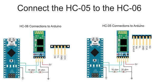HC-05 to HC-06 Easy Method Using CMODE