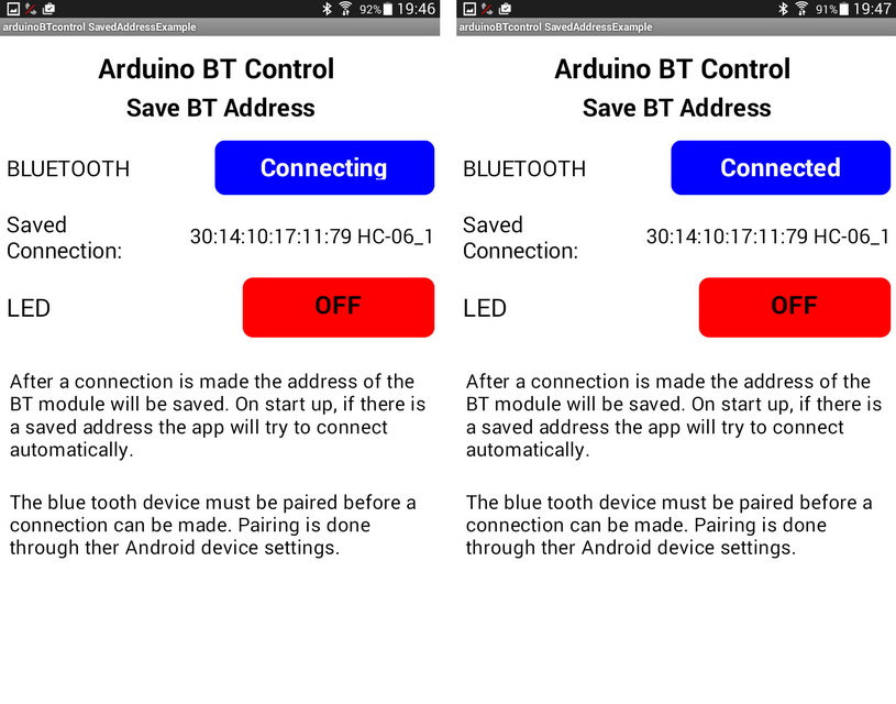 Android MIT App Inventor – Auto Connect To Bluetooth
