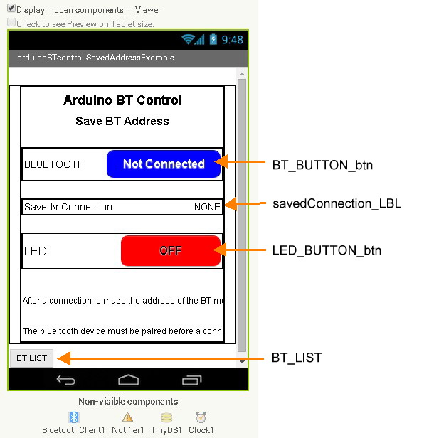 Android Bluetooth Controller App Source Code