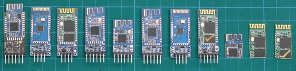 new Bluetooth Modules