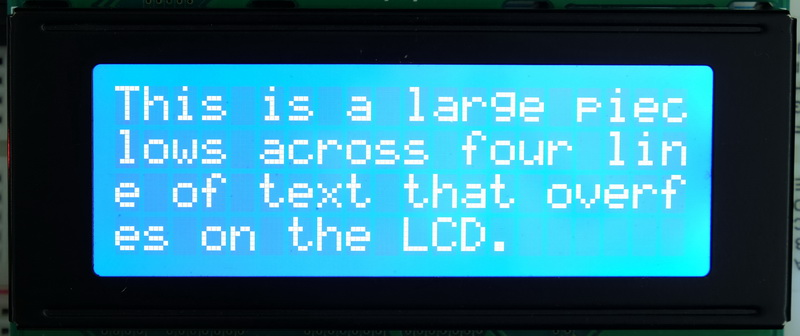 Arduino with HD44780 based Character LCDs | Martyn Currey