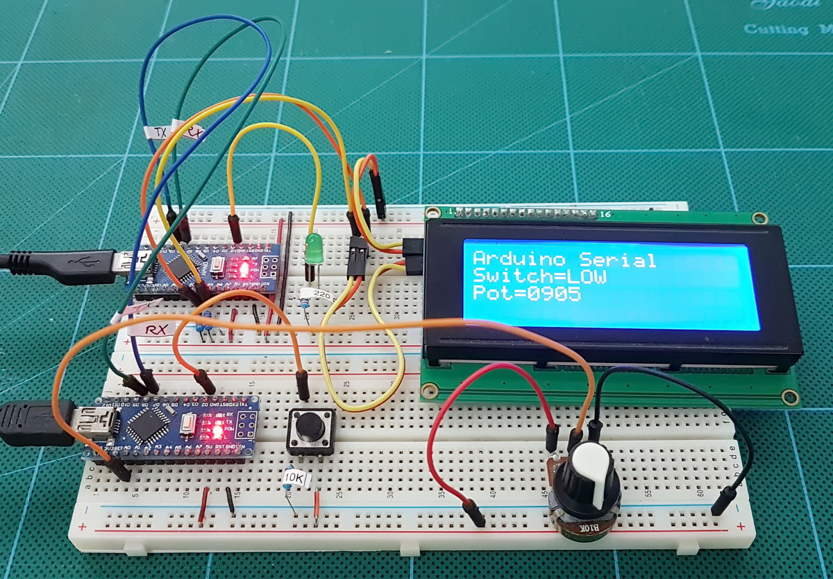 Arduino Serial Part 4: ASCII data and using markers to separate data